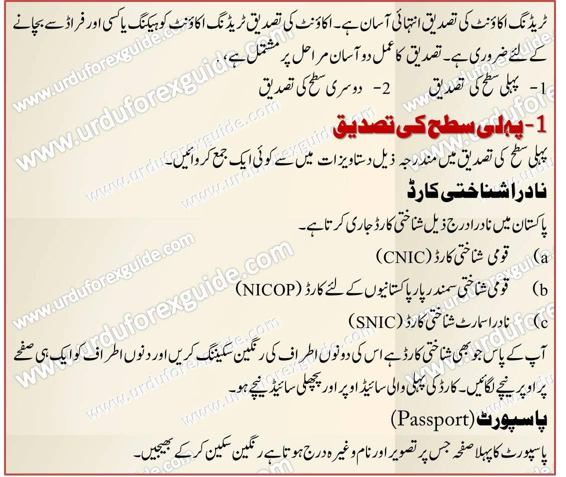 Forex guide in urdu