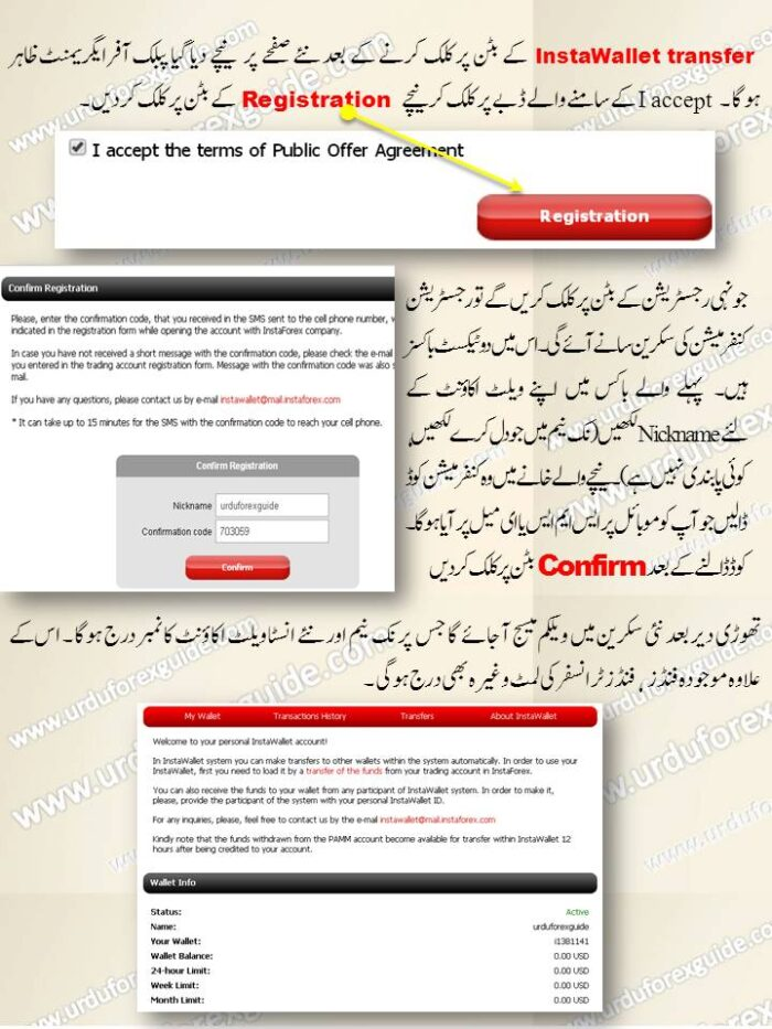 Urdu Tutorial to Creat InstaWallet Account_2